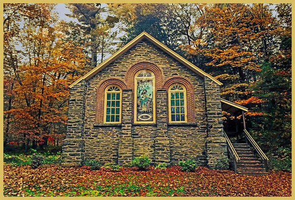 Photograph - The Parkside Chapel by Gary Keesler