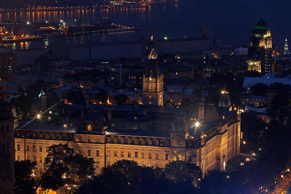 Photograph - The Parliament Of Quebec by Juergen Roth