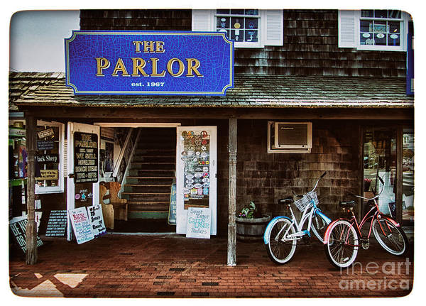 Photograph - The Parlor On Lbi by Mark Miller