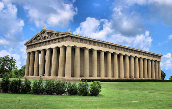 The Parthenon Art Print