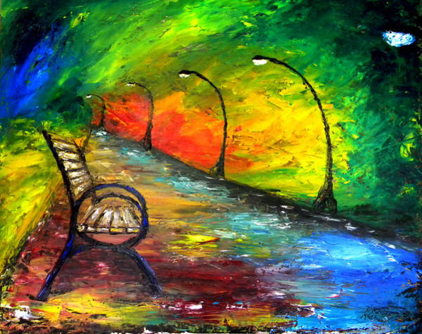 Painting - The Path by David McGhee