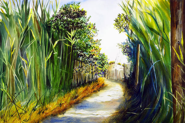 Painting - The Path Home by Phyllis London