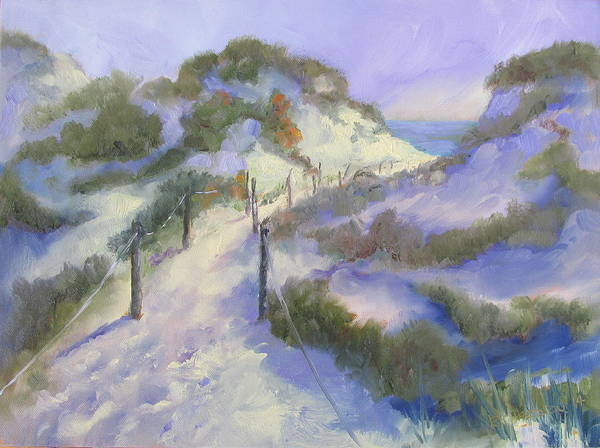 Gulf State Park Painting - The Path by Susan Richardson