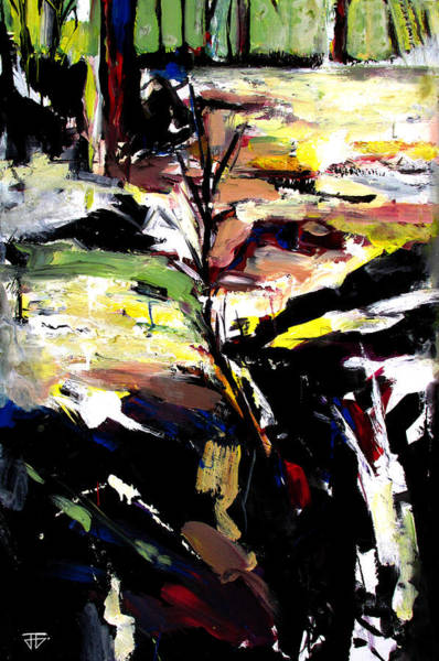 Painting - The Path That Took Me To You by John Jr Gholson