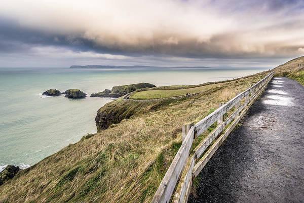 Konica Wall Art - Photograph - The Path To Heaven Ballintoy Northern Ireland by Giuseppe Milo