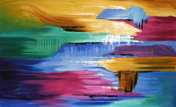 Painting - The Peace That Surpasses All Understanding by Anthony Falbo