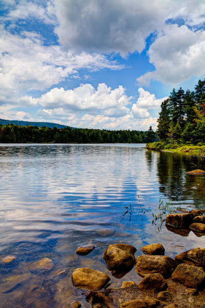 Photograph - The Peacefulness Of Bubb Lake by David Patterson