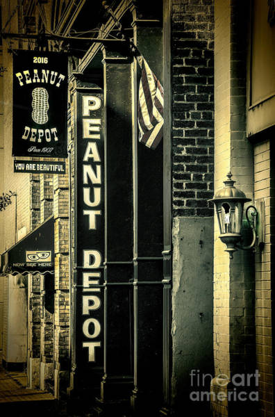 The Peanut Depot Art Print