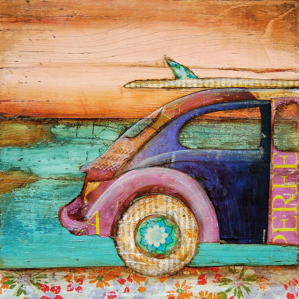 Volkswagen Wall Art - Mixed Media - The Perfect Day by Danny Phillips