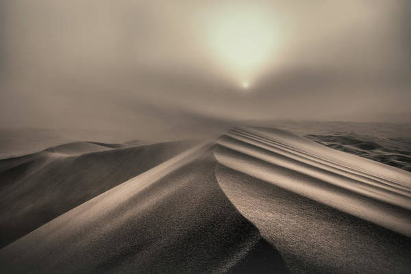 Wall Art - Photograph - The Perfect Sandstorm by Michel Guyot