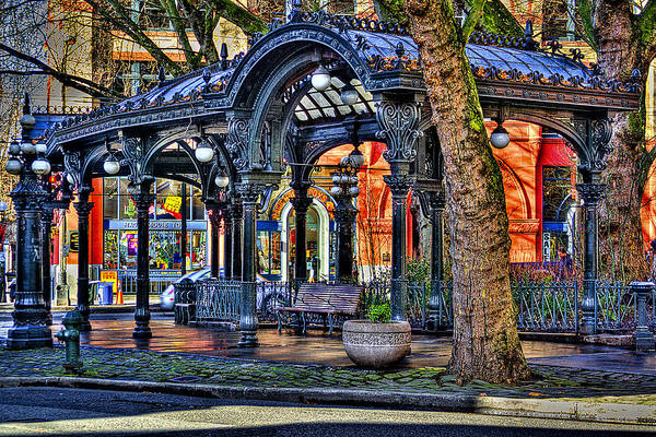 Photograph - The Pergola II by David Patterson
