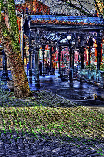 Photograph - The Pergola In Pioneer Square II by David Patterson