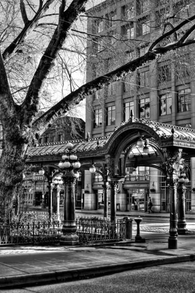 Photograph - The Pergola In Pioneer Square IIi - Seattle Washington by David Patterson