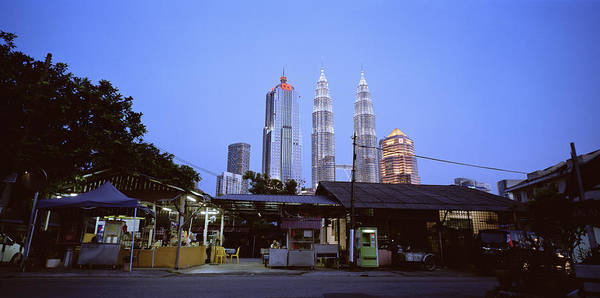 Photograph - The Petronas Towers At Twilight by Shaun Higson