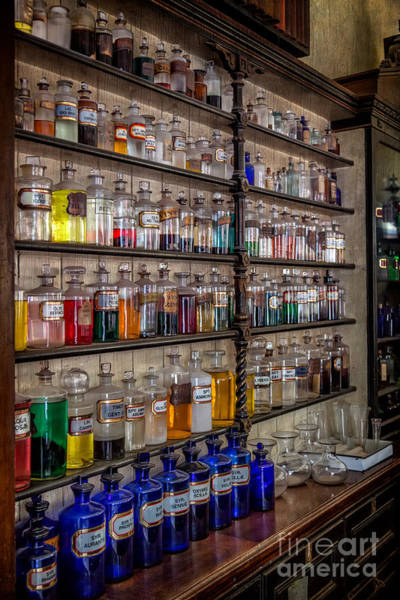 Best Seller Photograph - The Pharmacy by Adrian Evans