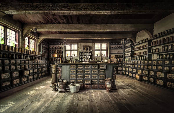 Wall Art - Photograph - The Pharmacy by Ole Moberg Steffensen