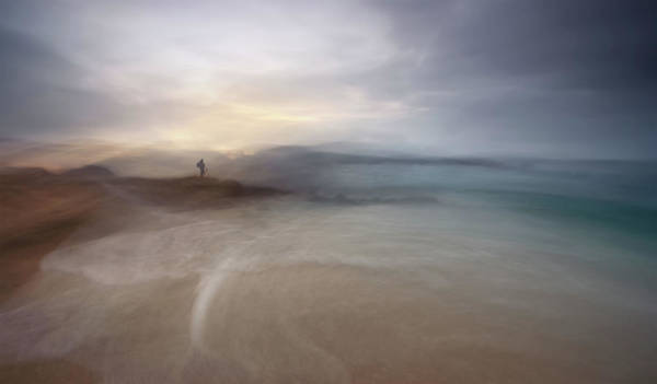 Abstract Sea Wall Art - Photograph - The Photographer Of Nowhere by Santiago Pascual Buye