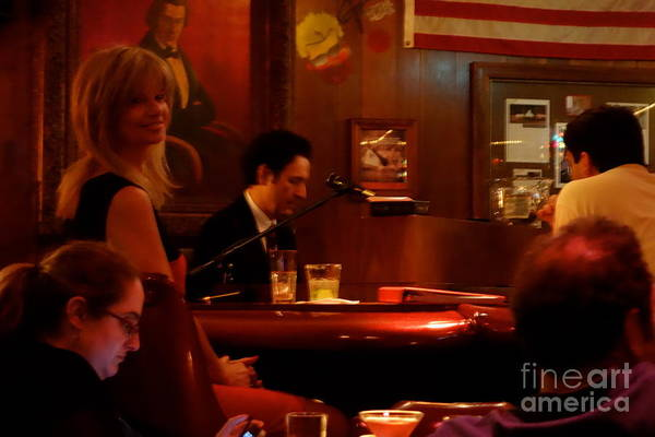 Photograph - The Piano Bar by Jacqueline Athmann
