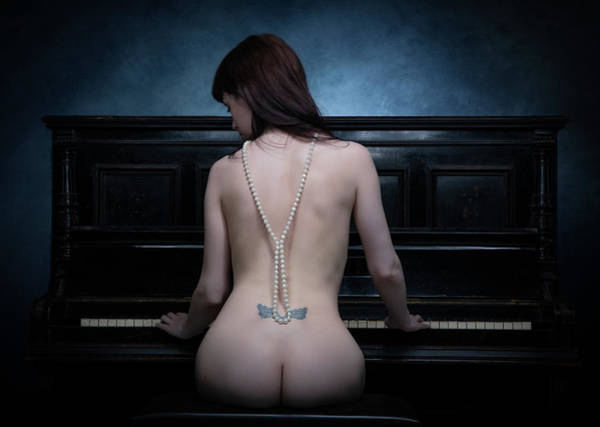 Piano Photograph - The Piano I by Luc Stalmans