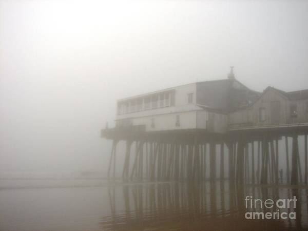 Photograph - The Pier On A Foggy Day by Cristina Stefan