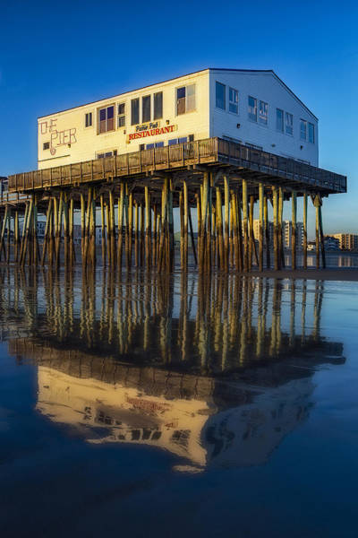 Photograph - The Pier by Susan Candelario