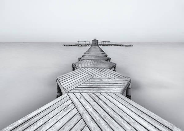 Boardwalk Photograph - The Pier by Xavier Garci
