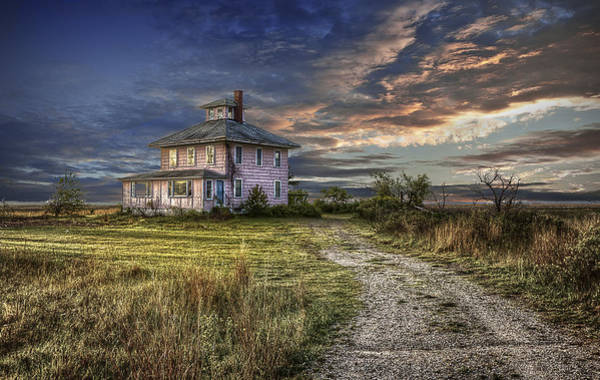 Photograph - The Pink House - Color by Rick Mosher