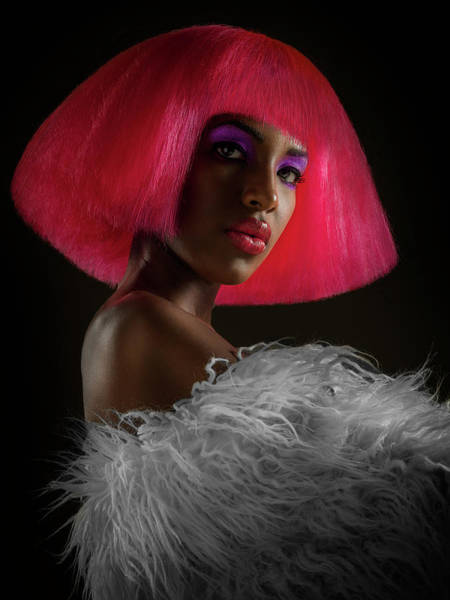 Hairstyle Photograph - The Pink Panther by Jackson Carvalho