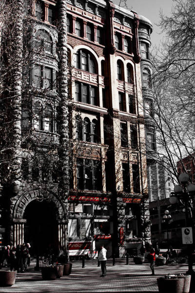 Photograph - The Pioneer Building - Seattle Washington by David Patterson