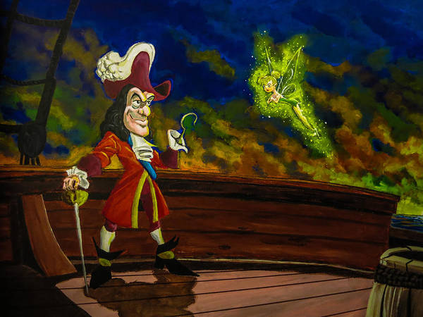 Painting - The Pirate And The Fairy by Joel Tesch