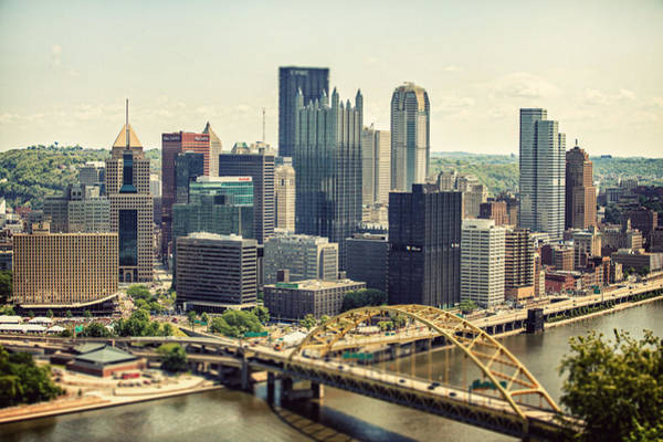 Lisa Russo Wall Art - Photograph - The Pittsburgh Skyline by Lisa Russo