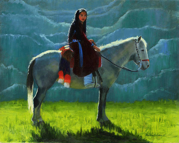 Chinle Painting - The Plateau Navajo Country by Barbara Sullivan