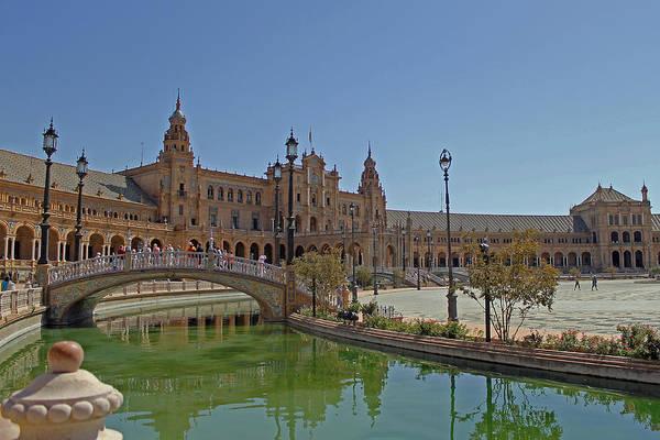 Photograph - The Plaza De Espana  by Tony Murtagh
