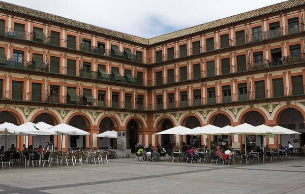 Photograph - The Plaza De La Corredera by Lorraine Devon Wilke