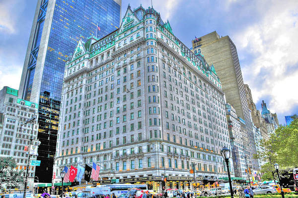 Wall Art - Photograph - The Plaza Hotel by Randy Aveille