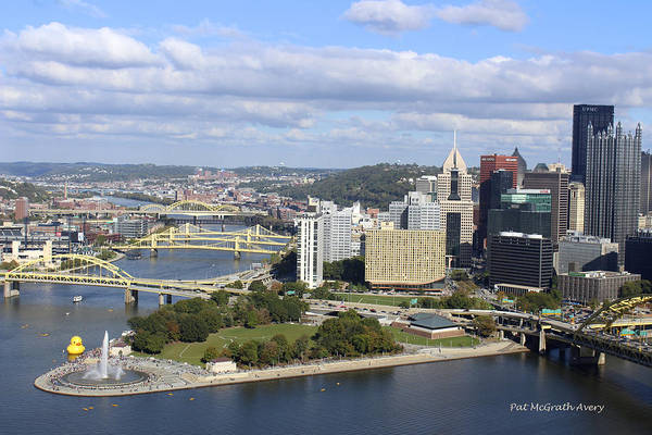 Photograph - The Point At Pittsburgh by Pat McGrath Avery