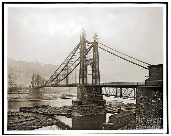Photograph - The Point Bridge by Russell Brown