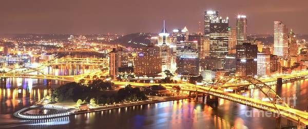 Photograph - The Point To Ft. Pitt by Adam Jewell