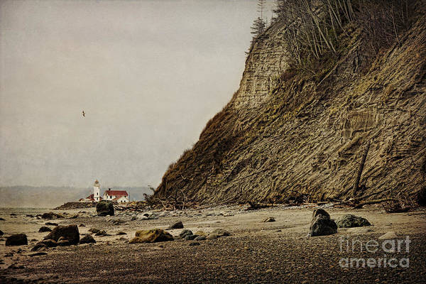 Port Townsend Photograph - The Point Wilson Light by Elena Nosyreva