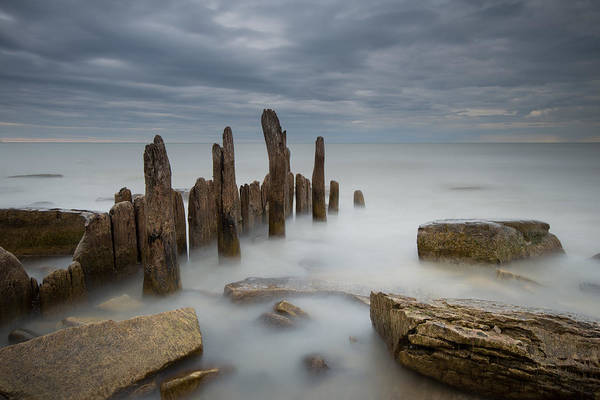 Piling Photograph - The Points by Josh Eral