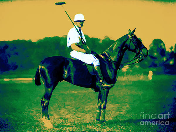 Photograph - The Polo Player - 20130208 by Wingsdomain Art and Photography