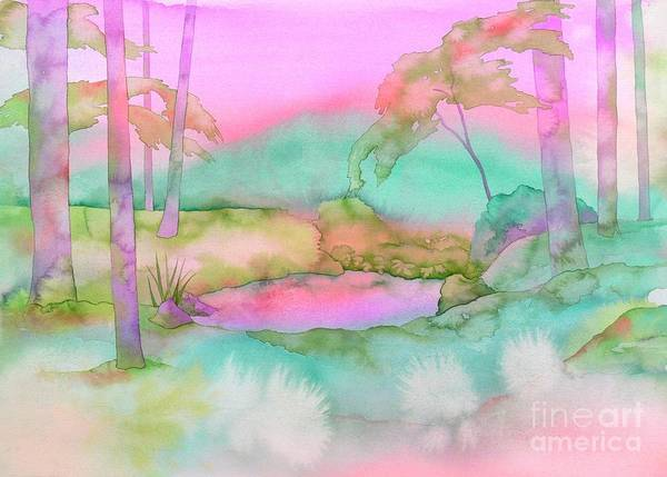 Pond Wall Art - Painting - The Pond by Robert Hooper