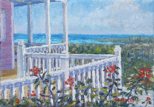 Painting - The Porch by Ritchie Eyma