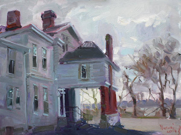 Wall Art - Painting - The Porter Mansion by Ylli Haruni