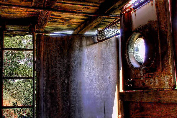 Photograph - The Porthole Window by David Patterson
