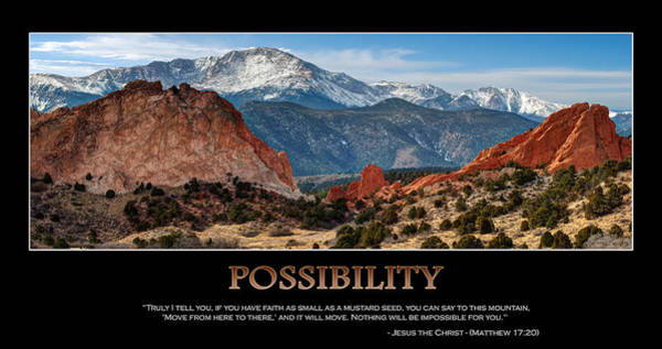 Photograph - The Possibilities - Inspirational Panorama by Gregory Ballos