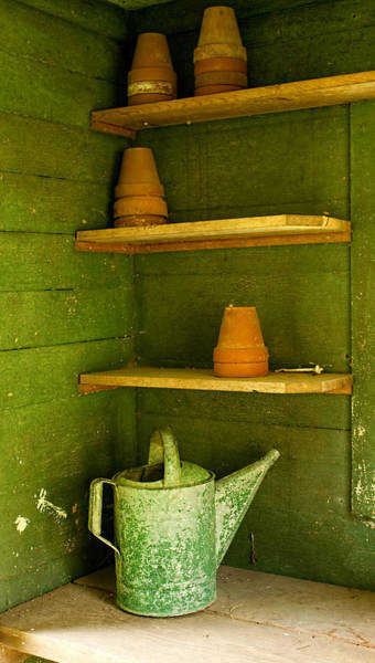 Photograph - The Potting Shed by Kristia Adams