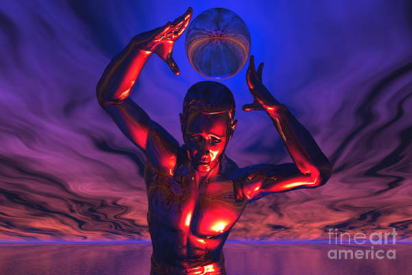 Individuality Digital Art - The Power To Store Infinite Knowledge by Mark Stevenson