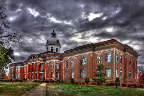 Photograph - The Powerhouse Putnam County Court House by Reid Callaway