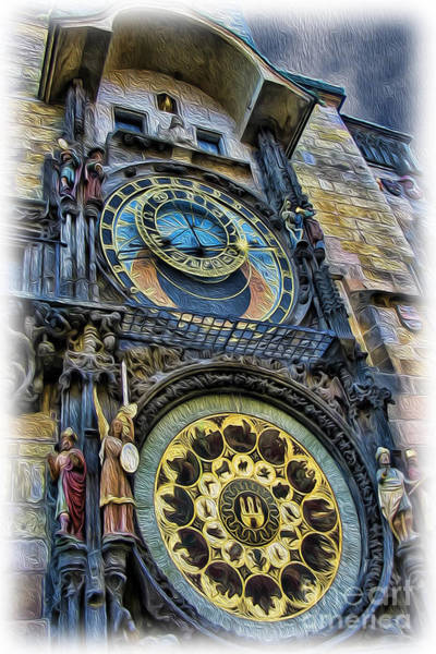 Wall Art - Photograph - The Prague Astronomical Clock II by Lee Dos Santos